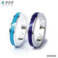 シンプルリング(10)選択可ターコイズ ラピスラズリ銀指輪|0001pppcom