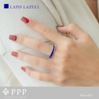 シンプルリング(10)選択可ターコイズ ラピスラズリ銀指輪|0001pppcom|05