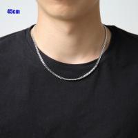 (ステンレス)喜平チェーン3.5mm選択可40cm 45cm 50cm 55cm 60cm 65cm 70cm 75cm 80cm金属アレルギー対応ネックレス メイン 0001pppcom 09