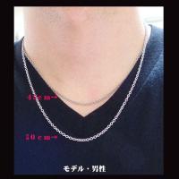 ステンレス あずきチェーン2.2mm選択可45cm 50cm 60cm メイン|0001pppcom|05