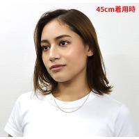 ステンレス・金色・平あずきチェーン1.5mm選択可40cm・45cm・50cm・60cm/(メイン)ゴールドPVDコーティング|0001pppcom|04