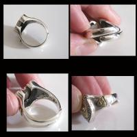 (GV)フリーメイソンとホースシューの指輪フリーサイズ (メイン) シルバー925 銀指輪 リング馬蹄 蹄鉄|0001pppcom|04