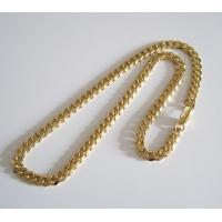 ステンレス 金色 喜平チェーン8mm55cm メイン サージカルステンレスチェーンゴールドコーティング(316L)|0001pppcom|02