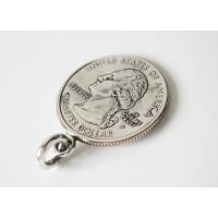 本物のアメリカのコインペンダント(4)サウスカロライナ州/コイン・硬貨・ペンダント・ネックレス