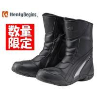 HenlyBegins DH805  ライディングブーツ  カラー:ブラック/グレー  スニーカーの...