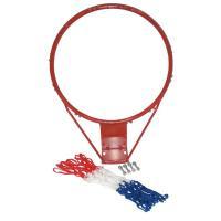 バスケットリング&ネット(取り付けネジ付き) ネットカラーは、トリコロールカラーになります。
