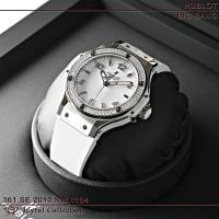 ウブロ ビッグバン スティールホワイト サンモリッツ ダイヤモンド 361.SE.2010.RW.1...