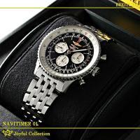 ブライトリング ナビタイマー01 46MM A017B09NP 新品。 ブラック/シルバーインデック...