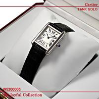 カルティエ(時計) タンクソロウォッチ レディース W5200005 新品未使用。 シルバーオパライ...