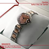 カルティエ(時計) バロンブルー ドゥ カルティエ W6920070 新品。 ピンクゴールドコンビ ...