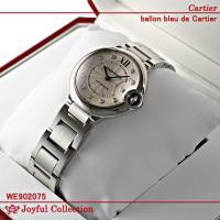 カルティエ バロンブルー ドゥ カルティエ スティール ダイヤモンド WE902075 新品。 オー...