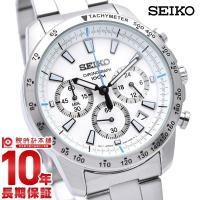 セイコー 逆輸入モデル SEIKO クロノグラフ 100m防水 SSB025P1(SSB025PC)...