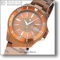サルバトーレマーラ SalvatoreMarra  SM13118-BR メンズ 時計 腕時計 正規...