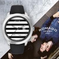 [新作]ロマゴデザイン RM049-0371ST-SV ロマゴデザイン メンズ 商品詳細・ブラック・...