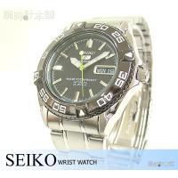 セイコー5 逆輸入モデル SEIKO5 5スポーツ ダイバーズウォッチ 100m防水 機械式(自動巻...