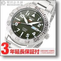 セイコー5 逆輸入モデル SEIKO5 5スポーツ 100m防水 機械式(自動巻き) SRP751K...