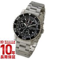 セイコー 逆輸入モデル SEIKO クロノグラフ 100m防水 SNA225P1(SNA225PC)...
