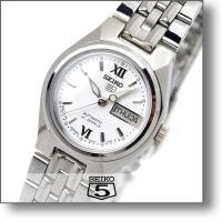 セイコー5 逆輸入モデル SEIKO5 機械式(自動巻き) SYMA07J1 レディース 時計 腕時...