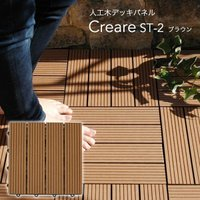 長持ちしやすいステンレスビスに、お手入れしやすい人工木を組み合わたウッドパネル【クレアーレST】です...