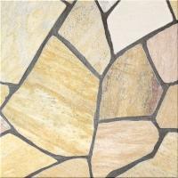 イエロー系の乱形石材になります。 原産国 ブラジル 石厚 10mm〜35mm  この商品は1ケース(...