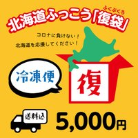 北海道ふっこう「復袋」 5,000円 <冷凍便>【送料込み】(福袋)※準備出来次第の発送のため、お届け日の指定はできません