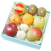 ・ペルーマンゴ×1 ・せとか×1 ・ふじりんご×1 ・王林りんご×1 ・グレープフルーツ(ホワイト・...