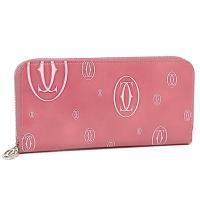 『Cartier』カルティエからハッピーバースデイラインの長財布が入荷しました☆C2ロゴがランダムに...