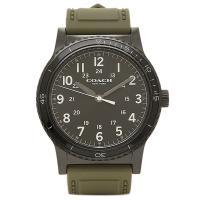コーチ 時計 アウトレット COACH W5016 EAX メンズ腕時計 ウォッチ ブラック/カーキ...