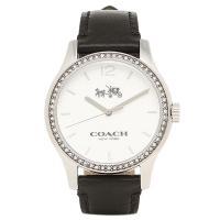 コーチ 腕時計 アウトレット COACH W6185 BLK シルバー ブラック  COACH(コー...