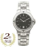 グッチ 時計 GUCCI 腕時計 YA090304 ブラック/シルバー メンズ/レディース 腕時計 ...