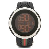 グッチ 時計 メンズ GUCCI Iグッチ 腕時計 ウォッチ ブラック  世代を超えて世界中の人達か...