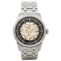 ハミルトン 時計 HAMILTON H40655131 レイルロ−ド スケルトン メンズ腕時計 ウォ...