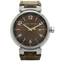 ルイヴィトン 時計 メンズ LOUIS VUITTON Q1111A タンブール GM 腕時計 ウォ...