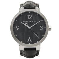 ルイヴィトン 時計 メンズ LOUIS VUITTON Q1D002 タンブールダミエ 腕時計 ウォ...