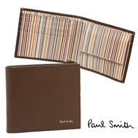 ポールスミス 財布 PAUL SMITH 4833-W761 C 2つ折り財布 CHOC  PAUL...