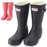 ハンター レインブーツ KIDS/子供用 HUNTER W23500 長靴/ラバーブーツ ORIGI...