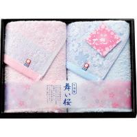 伝統的な桜模様をあしらい、上品に仕上げました。日本有数のタオルの産地、「愛媛県・今治」で厳しい品質管...