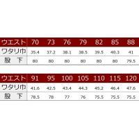 寅壱社製 INFINITY MAX 作業着 1309-414 ロングニッカ 「70cm-85cm」(鳶衣料 年間)|1up|03