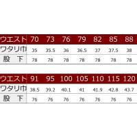 寅壱 作業服 作業着 2530-207 ツータックパワー カーゴパンツ 「88cm-100cm」(作業ズボン 年間)|1up|03