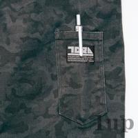 寅壱 作業服 作業着 3610-124 迷彩柄長袖ブルゾン 「M-LL」(スリムフィット 年間)|1up|05