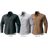 寅壱 作業服 作業着 3610-125 迷彩柄長袖シャツ 「M-LL」(年間)|1up|02