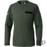 寅壱 作業服 作業着 5761-617 長袖クルーネックTシャツ 「M-LL」|1up|09