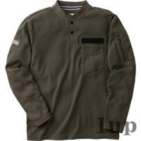 寅壱 作業服 作業着 5761-635 長袖ヘンリーネックシャツ 「M-LL」|1up|05