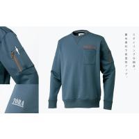 寅壱 作業服 作業着 5762-627 ヴィンテージトレーナー 「M-LL」|1up|02