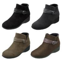 パンジー ブーツ 婦人用 ショートブーツ 送料無料 Pansy レディース 生活防水設計ブーツ 雨の日でも履いて頂ける 4641
