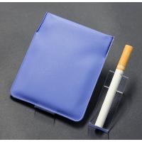 携帯灰皿 携帯くず入れ  ポケット灰皿 ちっポケレギュラーサイズ青無地1個