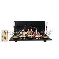 雛人形 2016 ひな人形 千匠 平飾り 親王飾り 木目込み人形 コンパクトながら、こだわり尽くされ...