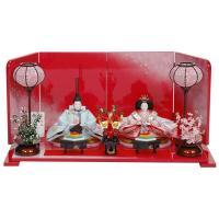 雛人形 ひな人形 千匠 平飾り 親王飾り 店長のおすすめの人気工房 目にも鮮やかな飾り台と屏風が印象...