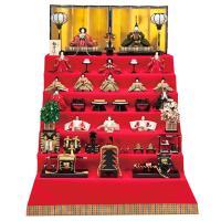2017年度新作雛人形 京人形司五世 雛幸によって製作された、「極上有職十五人揃」です。お殿様の束帯...