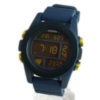 ■商品名 NIXON ニクソン メンズ腕時計 THE UNIT ユニット スチールブルー×イエロー ...